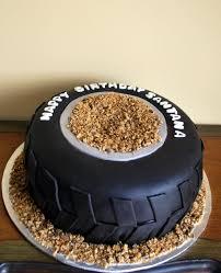 Monster Truck Tire Cake - 12