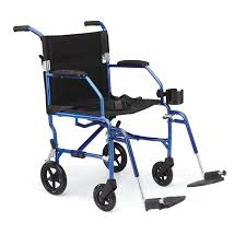 Bariatric Transport Chair 24 Seat by Ultralight Transport Wheelchair