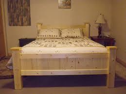 nice bed made out of 2x4 u0027s and 1x4 u0027s cabins pinterest