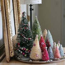 All You Need To Make Your Own Adorable Bottle Brush Christmas Trees Is Some Sisal Rope Thin Wire Craft Glue And A Few Other Supplies