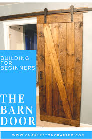 How To Build A Rustic Barn Door • Charleston Crafted Pallet Sliding Barn Doors Shipping Pallets Barn Doors Remodelaholic 35 Diy Rolling Door Hdware Ideas Ana White Cabinet For Tv Projects The Turquoise Home Fabulous Sliding Door Ideas Space Saving And Creative When The Wifes Away Hulk Will Play Do Or Tiny House Designs And Tutorials From Thrifty Decor Chick 20 Tutorials