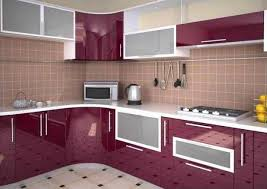 Peaceful Design Ideas Kitchen Furniture Decorating With Glass Cabinets Doors Brings Light Into Modern Designs For Small L Shape Pune