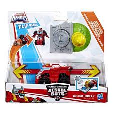Playskool Heroes Transformers Rescue Bots Flip Racer Pullback ...
