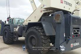 100 Truck Rentals Chicago Terex CD225 Terex RT Crane Rentals For And North America