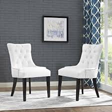 Details About Tufted White Upholstered Faux Leather Nailhead Parsons Dining  Chair - Set Of 2 Atemraubend Nailhead Ding Room Chair Grey Tufted Covers Astonishing Chrome Chairs Set Of 4 Likable Table Clairborne Gray Of 2 Upc 08165579 Dorel Home Furnishings Amazoncom Bsd National Supplies Horizon Round Button Inspired Lachlan Velvet Or Linen Trim Details About Velvetpu Leather Modern Finish White With Upholstered Seats Bcp Elegant Design Contemporary Fniture American Eagle Ckh168w Pu Kitchen Teal Wood For Sale