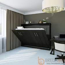 horizontal metropolitan murphy bed horizontal wall bed bredabeds