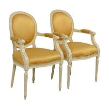 87% OFF - Gold Fleur De Lis Arm Dining Chairs / Chairs Timothy Oulton Mimi Ding Chair With Arms Weathered Oak Legs Fairfield Chairs Contemporary Room Arm Gallatin Ding Arm Chair From Caste Architonic Elegant French Style High Back Cream Walnut Fabric Alice Armrest Villa Cortina Leather By Universal At Hudsons Fniture Amazoncom Modern Solid Wood Swivel Casual Dafny Country Empire Camel Co Black Steel Base Dakar 0842 Seatdark Stained Warms