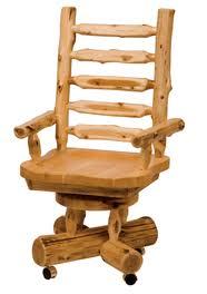 Shining Ideas Cedar Log Furniture Black Forest Decor