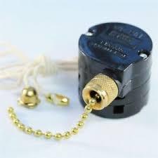 wu pin 3 speed pull chain switch ceiling fan brass 8 wires ebay