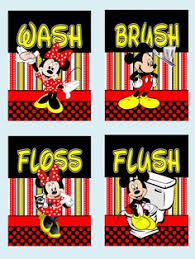 Mickey And Minnie Mouse Bathroom Ideas by Peekaboo Mickey And Minnie Bathroom Hand Towels Disney Home