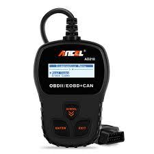 Amazoncom ANCEL AD210 OBD II Car Code Reader Automotive Vehicle