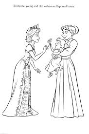 Coloriage Raiponce Disney Inspirational Coloriage Walt Disney Chance