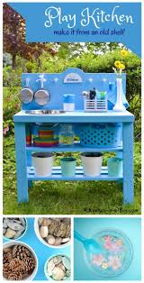 DIY Outdoor Play Kitchen From A Shelf | Outdoor Play Kitchen ... Covered Kiddie Car Parking Garage Outdoor Toy Organization How To Hide Kids Outdoor Toys A Diy Storage Solution Our House Pvc Backyard Water Park Classy Clutter Want Backyard Toy That Your Will Just Love This Summer 25 Unique For Boys Ideas On Pinterest Sand And Tables Kids Rhythms Of Play Childrens Fairy Garden Eco Toys Blog Table Idea Sensory Ideas Decorating Using Sandboxes For Natural Playspaces Chairs Buses Climbing Frames The Magnificent Design Stunning Wall Decoration Tags