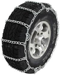 Glacier Twist Link Snow Tire Chains With Cam Tighteners - 1 Pair ...