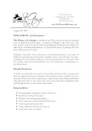 5 Star Resume Templates Packed With For Server Banquet Job Description
