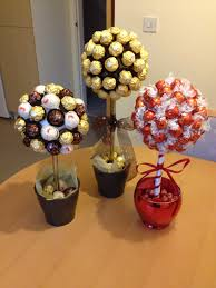 Ferrero Rocher Christmas Tree Diy by Sweet Trees Made With Ferrero Roche And Lindor Chocolates Roche