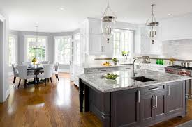 Stunning Square Kitchen Island Ideas With Undermount Black Cast Iron Sinks Also Kitchenaid Artisan Stand
