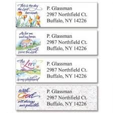 Verses Of Virtue Classic Address Labels 4 Designs