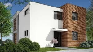 100 Modern Two Storey House Compact Twostorey House Made Of Aerated Concrete In A Modern Style