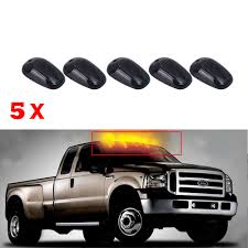 5pcs Oval Top LED Cab Roof Lights Running Marker Smoke Lens For ... Best Lights For Truck Amazoncom Ijdmtoy 5pcs Amber Led Cab Roof Top Marker Running 2 X Top Quality Bumper Firesafety Rescue Engine Truck With Music Park Ranger Vehicle Lights Flashing Stock Photos 5x Smoked Suv Off Road 5 For Trucks Bumpers Windshield Jeep Tents Tuff Stuff 4x4 2016 Ford F150 Special Service Joins Police Force News 12 Rv Discount Universal Teardrop Style Led Clearance