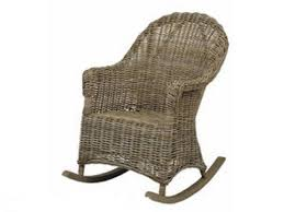Natural Rattan Rocking Chair - Vintage Style: Amazon.co.uk ...