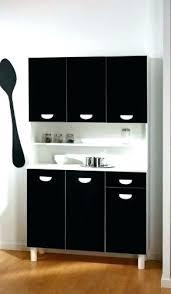 meuble de cuisine noir laqué meuble cuisine noir buffet meuble dangle cuisine noir laque globr co