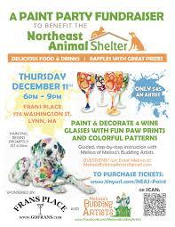 Eventbrite Halloween Bar Crawl Boston by Northeast Animal Shelter Paint Party Fundraiser Tickets Lynn