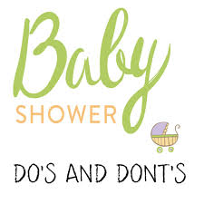 Baby Shower Logo by Baby Shower Etiquette Dos And Donts