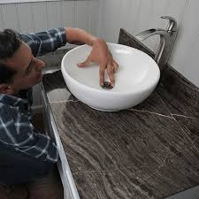 Bathroom Sink Trap Not Draining by How To Install A Vessel Sink