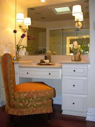 White Makeup Desk With Lights by Furniture Magnificent Image Of Bedroom Decoration Using