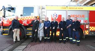 Orange Fire Station Become Lucky Owners Of Brand New Fire Truck ...