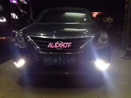 yeats led daytime running lights drl with fog l cover led fog