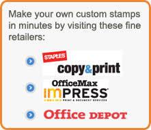 Custom Ink Stamps