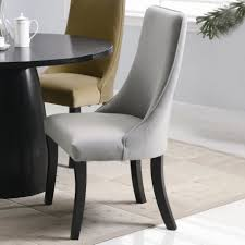 Furniture: Special Upholstered Dining Chairs With Cozy Seating ... Zaffiro Blue Upholstered Chair Ding Advanced Grey Chairs Decofurnish Fniture Arm Lovely Pair Of New Hooker Room Modern Wingback Ding Chair Image Home Decorations Insight Cr Laine Page Amazoncom Best Selling Natural Tall Tufted 2pack View Larger Image Wingback Wing Back Leather
