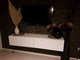 tv lowboard schwebend hängend sideboard tv schrank