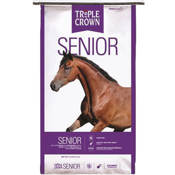 Triple Crown Senior Horse Feed Formula - 50lb
