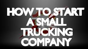 100 Independent Trucking Company HOW TO START A SMALL TRUCKING CO Part 1 YouTube