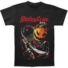 Motleys Pumpkin Patch by Motley Crue Halloween T Shirt Rockabilia