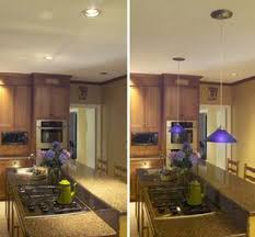 Before And After Of Recessed Lighting Installation