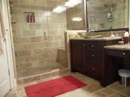 Espresso Bathroom Wall Cabinet With Towel Bar by Stunning Black Flourish Pattern Wall Tile Small Bathroom Remodel