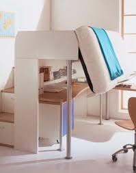 bureau pour mezzanine lit mezzanine contemporain avec bureau pour enfant unisexe