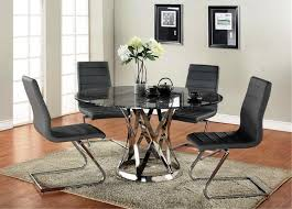 Dining Room Chairs For Glass Table by Best Kitchen Dinette Sets Contemporary