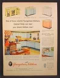 Refinish Youngstown Kitchen Sink by Youngstown Kitchen 1957 Marketing Material And A Priceless Video