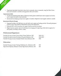 Sample Respiratory Therapy Resume Pictures Ideas Of