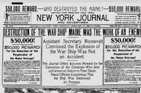 Pictures Of The Uss Maine Sinking by To Fix Fake News Look To Yellow Journalism Jstor Daily