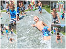 DIY Splash Pad: 7 Genius Hacks   Sprinklers, Slip 'n Slide And The Boy 25 Unique Slip N Slide Ideas On Pinterest In Giant Backyard Water Parks Splash Recycled Commerical Water Slides For Sale Fix My Slide Diy Backyard Outdoor Fniture Design And Ideas Residential Pool Pools Come Out When Youre Happy How To Turn Your Into A Diy Pad 7 Genius Hacks Sprinklers The Boy Swimming Pools Waterslides Walmartcom N But Combing Duct Tape Grommets Stakes 54 Best Images Summer Fun 11 Infographics Freeze