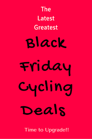 The Best Black Friday/Cyber Monday Bike Deals 2018