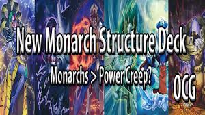 structure deck r ocg advent of the true monarch new monarch