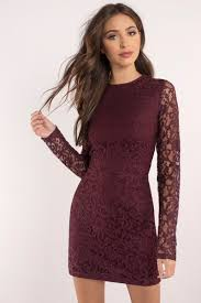 burgundy dress long sleeve dress royal burgundy dress