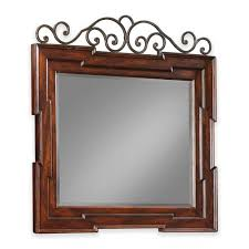 Dresser Mirror Mounting Hardware by Wall Mirrors Bathroom Mirrors Bellacor Com